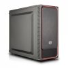 Cooler Master MasterBox E500L (Red/steel panel)