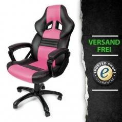Monza Gaming Schw Pu Arozzi Stuhl pink rCeWBodx