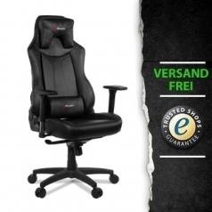 ultraforce.de Arozzi Gaming Stuhl Vernazza Schwarz - PU