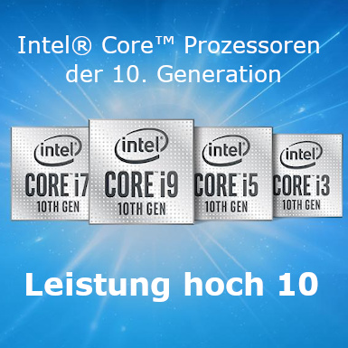Intel der 10ten Generation Gamer PC